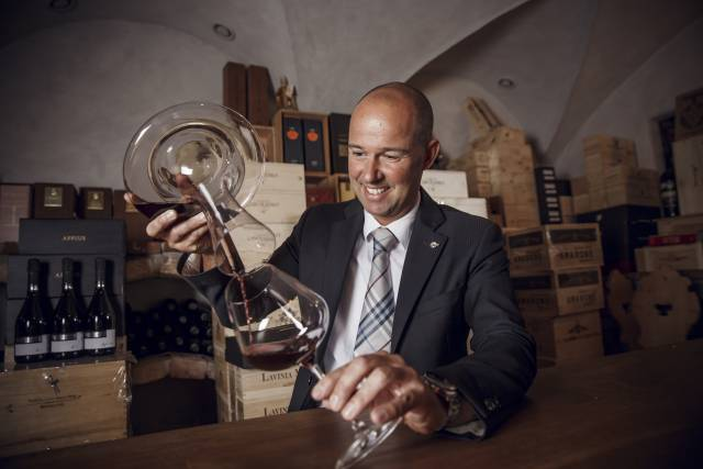 Sommelier Andreas