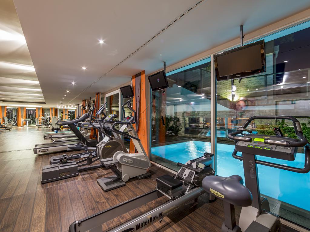 Fitnessraum hotel  Fitnessraum & Cardioraum im Wellnessurlaub - SPA & Relax Hotel Erika ...